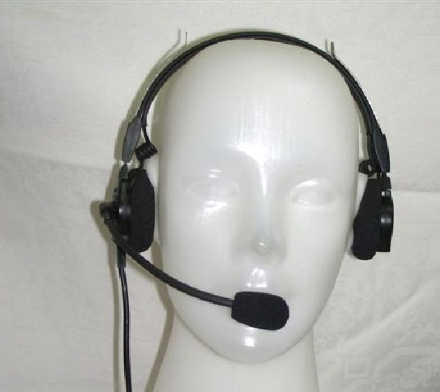 Lightweight Land Mobile Headset - Dual Side