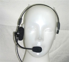 Lightweight Aviation Headset - Single Side Military / Police / Special Operations Headsets