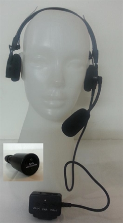 Bluetooth Headset with Bluetooth PTT